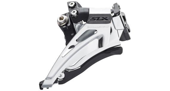 Shimano SLX FD-M7025 Umwerfer Schelle tief 2x11 Top Swing Schwarz